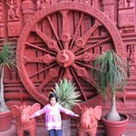 The Terracota wheel in Gempark Ooty