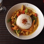 Chicken curry rice - great value