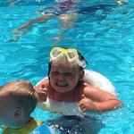 My babies loving the pool ��