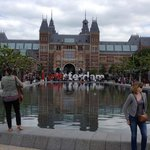 Museumplein outside the Rijksmuseum