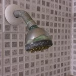 worn showerhead