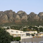Table Mountain behind 3 on Camps Bay