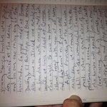 our journal entry from guest room page 2