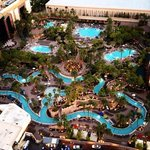 view of MGM pools