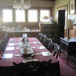 Dining room, where breakfast is served