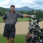 Lake Placid Golf with Whiteface Mt.