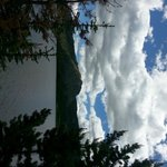 Sideways view of Louis Lake (sorry about that!)