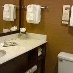 bathroom - nice amenities