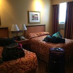 Our room on the 2nd floor