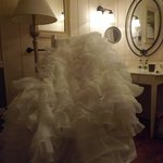 Wedding Dress in Lake House