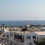 View from our room. Ayia napa slingshot and bungee jump. Great views