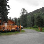 Foto van Summit Lake Lodge