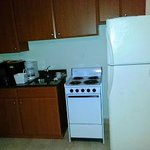 Small kitchen in room