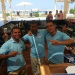 Carlos, Joseph and Mo Pool Bar