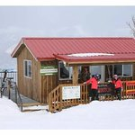Adorable burrito shack up on the slopes