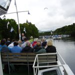 River Leven at start of cruise.