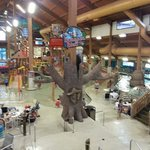 Kids indoor waterpark.