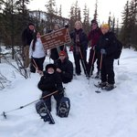 All Done Snow Shoeing