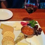 Cheese plate appetizer was great