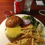 Room Service Burger and $3.50 Coke
