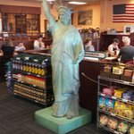 OK, the fake Statue of Liberty is a little hokey