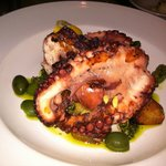 Grilled octopus - fantastic!