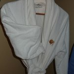 Robes are quintessential to a luxed stay, I believe.