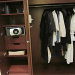 closet-this is the only drawer space for clothes