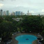 View of  Manila from a Pool View Room