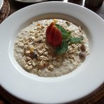 Delicious breakfasts prepared in your villa