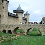 Castle and Ramparts of Carcassonne Foto