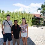 With our guide Rante