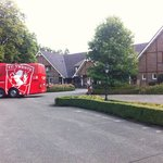Football club FC Twente at Hotel De Bloemenbeek