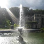 the fountain in the sunshine