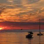 sunset at Boat Meadow Beach-