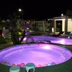 Piscine in spiaggia by night
