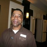 A Tracy Morgan Look Alike, Friendly Maintenance Employee-Wayne