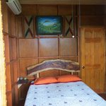 Inside the treehouse room