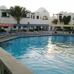 Smaller Family pool with restaurant