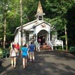 A church in a middle of an amusement park....can I get an amen?