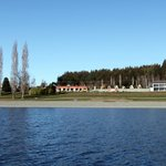 View from Lake of Holiday Park