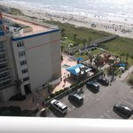 View of Ocean and pool area Palmetto Bldg