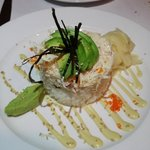 Dungeness crab appetizer