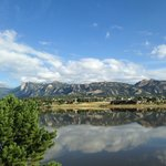 Hotel is within walking distance to Lake Estes.