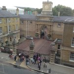 View over Royal Mews from bedroom