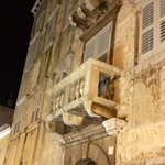 Poreč by night. Look up, you will see more.