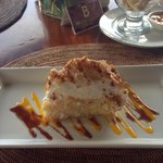 Coconut Cake at Tirta Ayu - delicious!