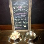 Pet's Welcome Chalk Board