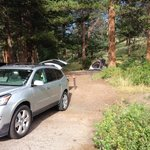 Aspenglen Campground, Rocky Mountain National Park照片