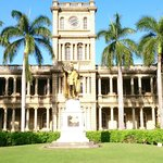 King Kamehameha Statue, downtown Honolulu